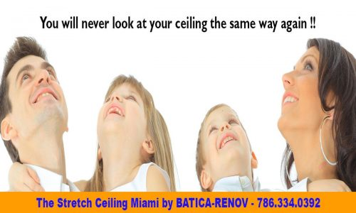 stretch ceiling fabric Batica-Renov USA